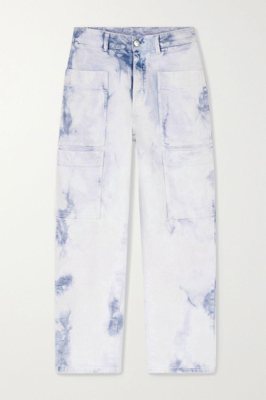 Stella McCartney Acid-wash boyfriend jeans