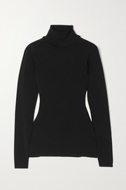 Stella McCartney + NET SUSTAIN knitted turtleneck sweater