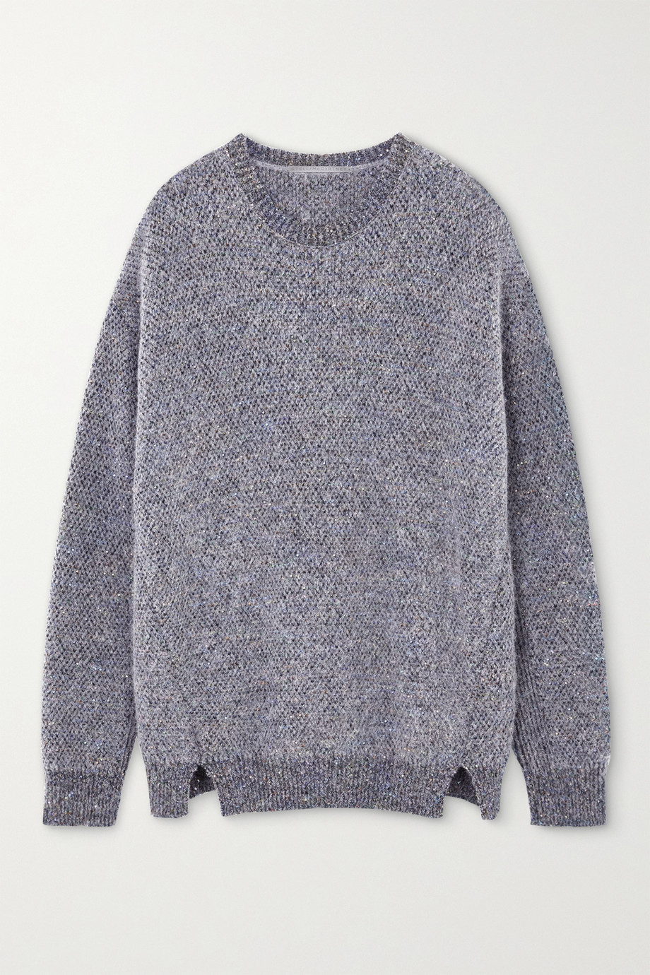 Stella McCartney Sequin-embellished knitted sweater
