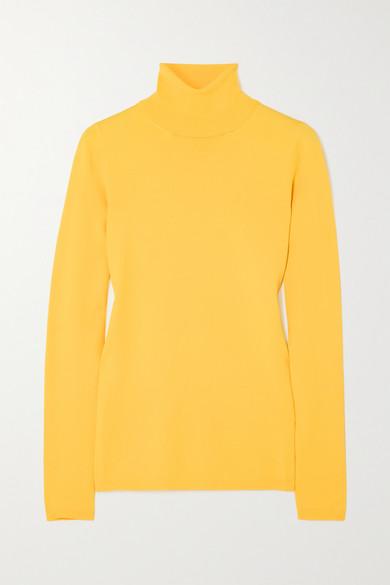 Stella McCartney - Knitted Turtleneck Sweater - Yellow
