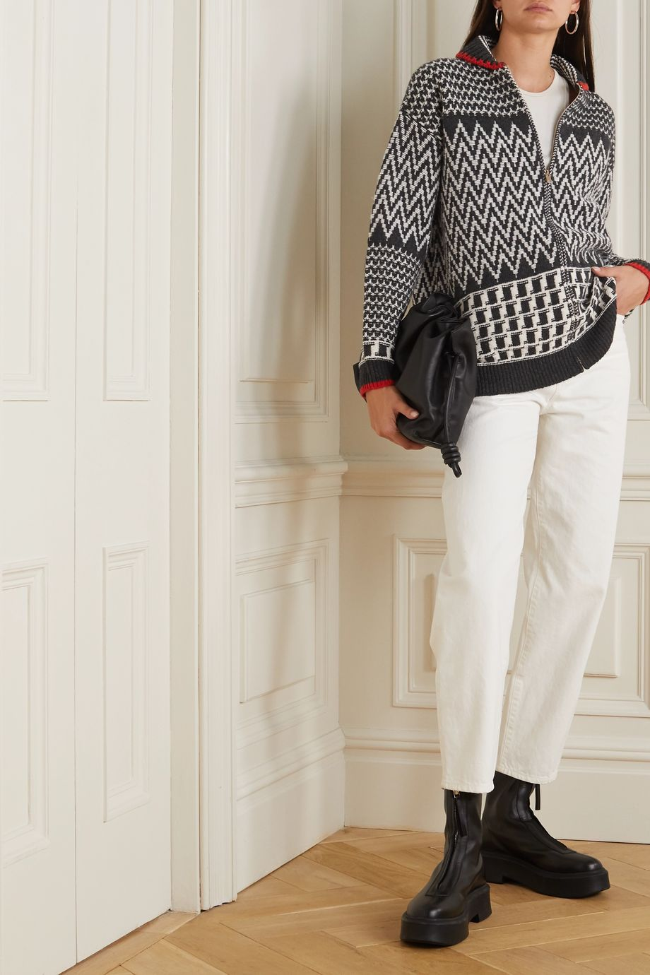 Stella McCartney Intarsia wool jacket