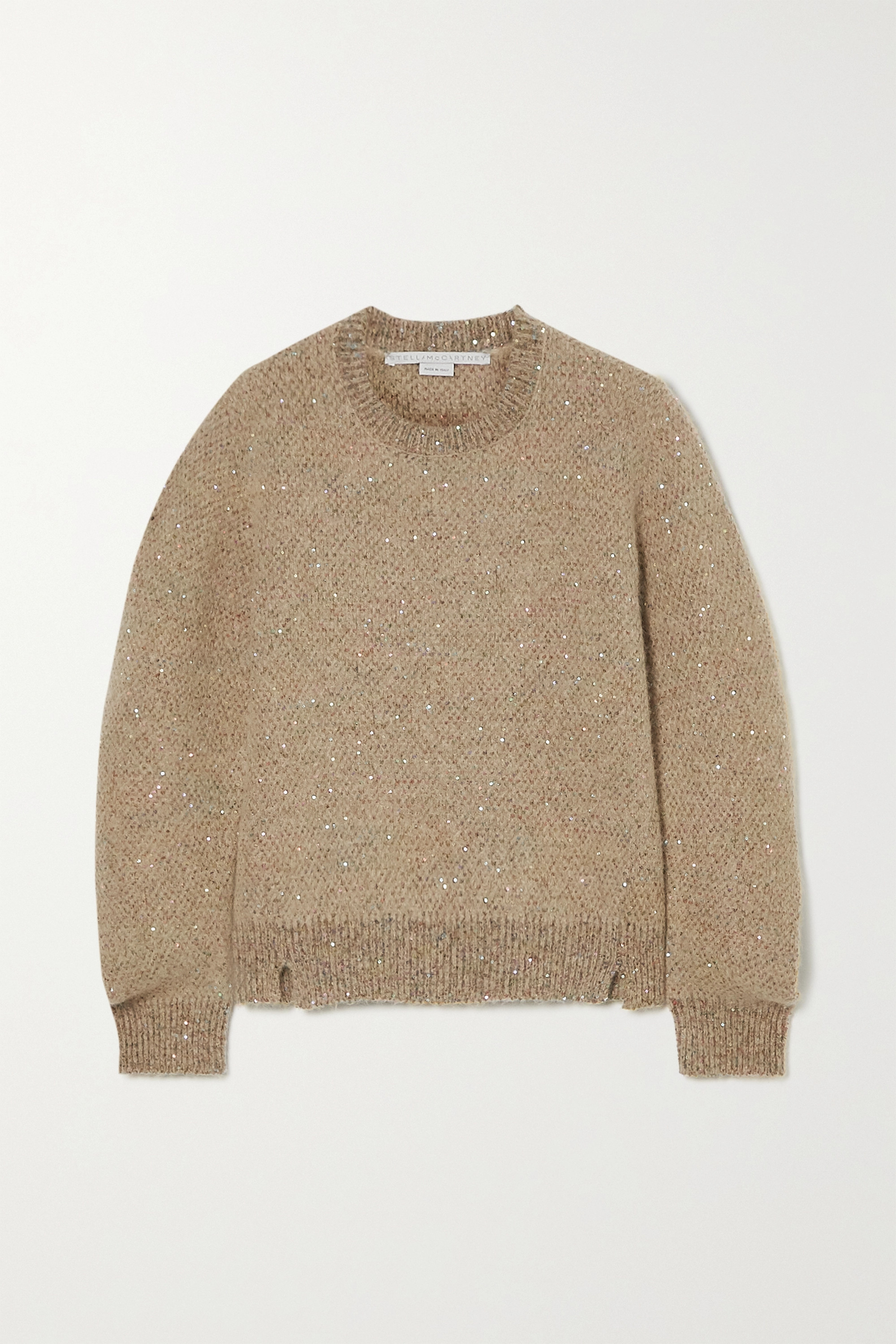 Stella McCartney Sequined knitted sweater