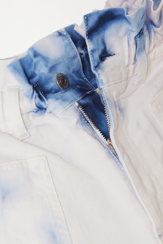 Stella McCartney Acid-wash denim shorts