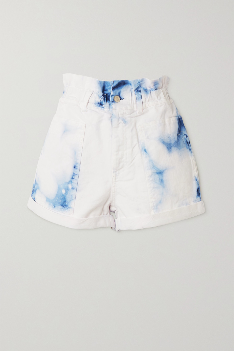 Stella McCartney Acid-wash denim shorts