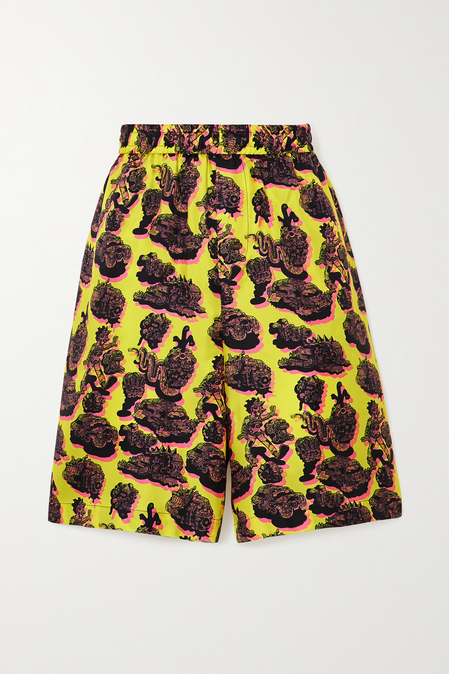 Stella McCartney Timothy Shorts aus bedrucktem Seiden-Twill