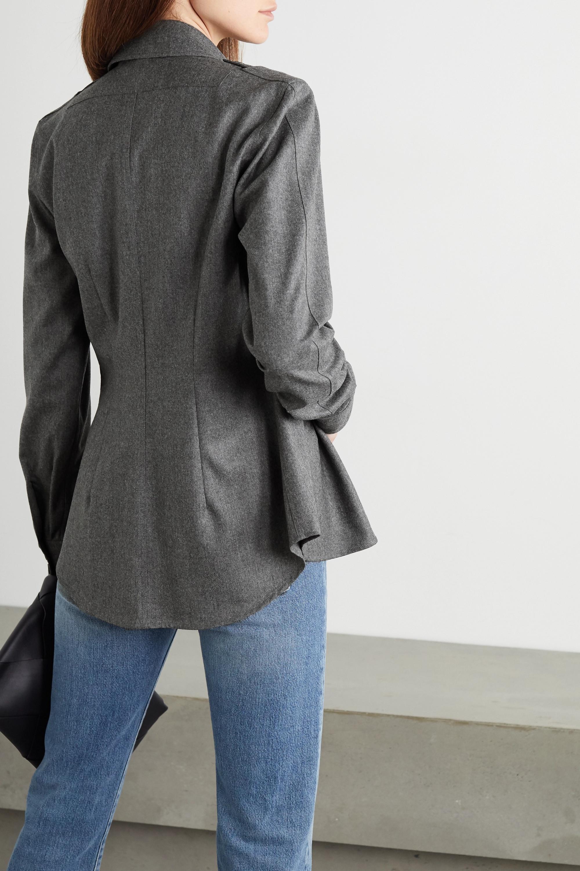 Stella McCartney Wool-flannel shirt