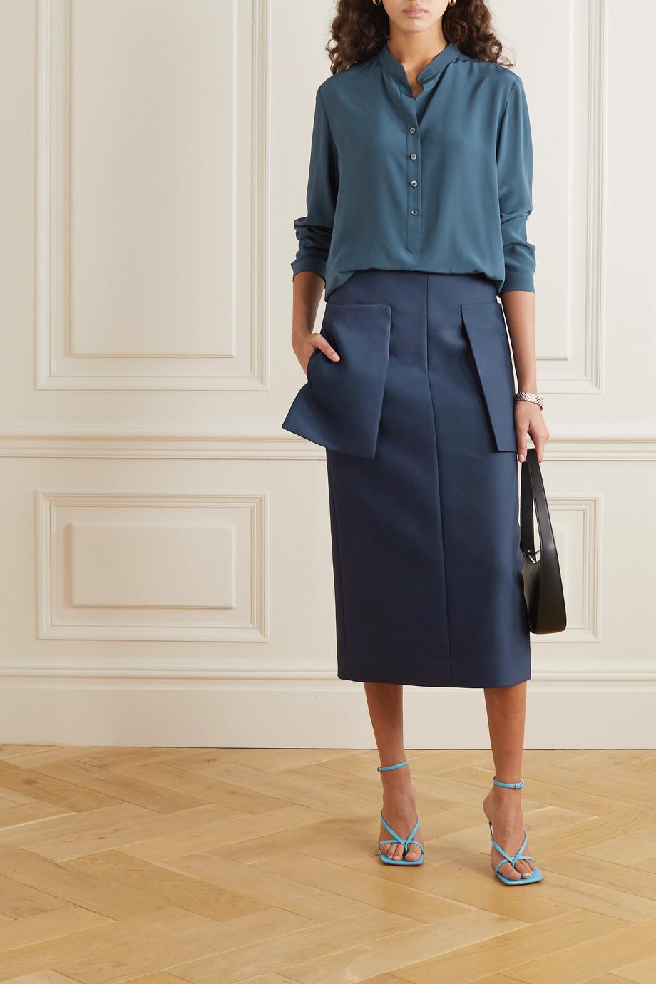 Stella McCartney Eva silk crepe de chine shirt