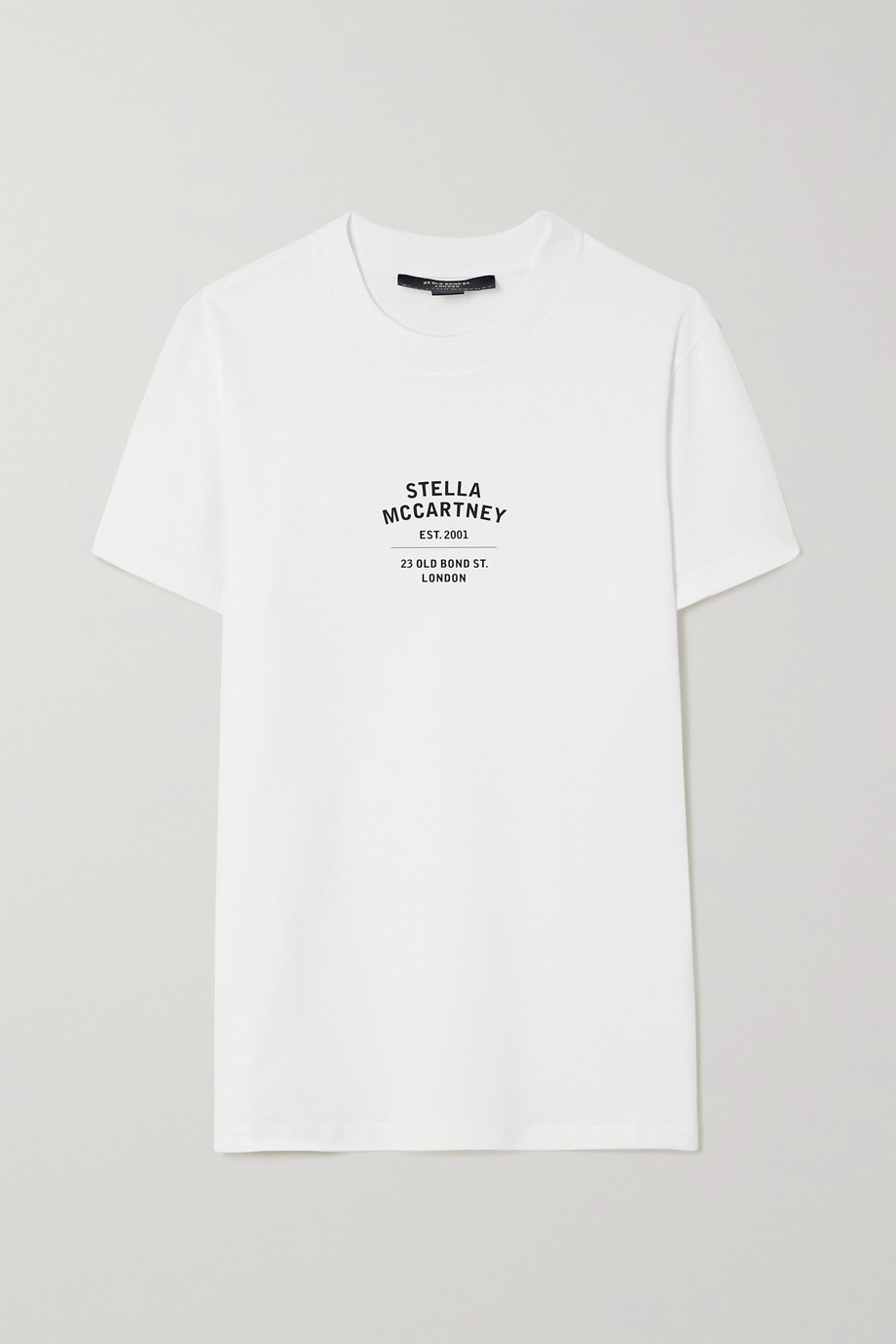 Stella McCartney + NET SUSTAIN printed organic cotton-jersey T-shirt