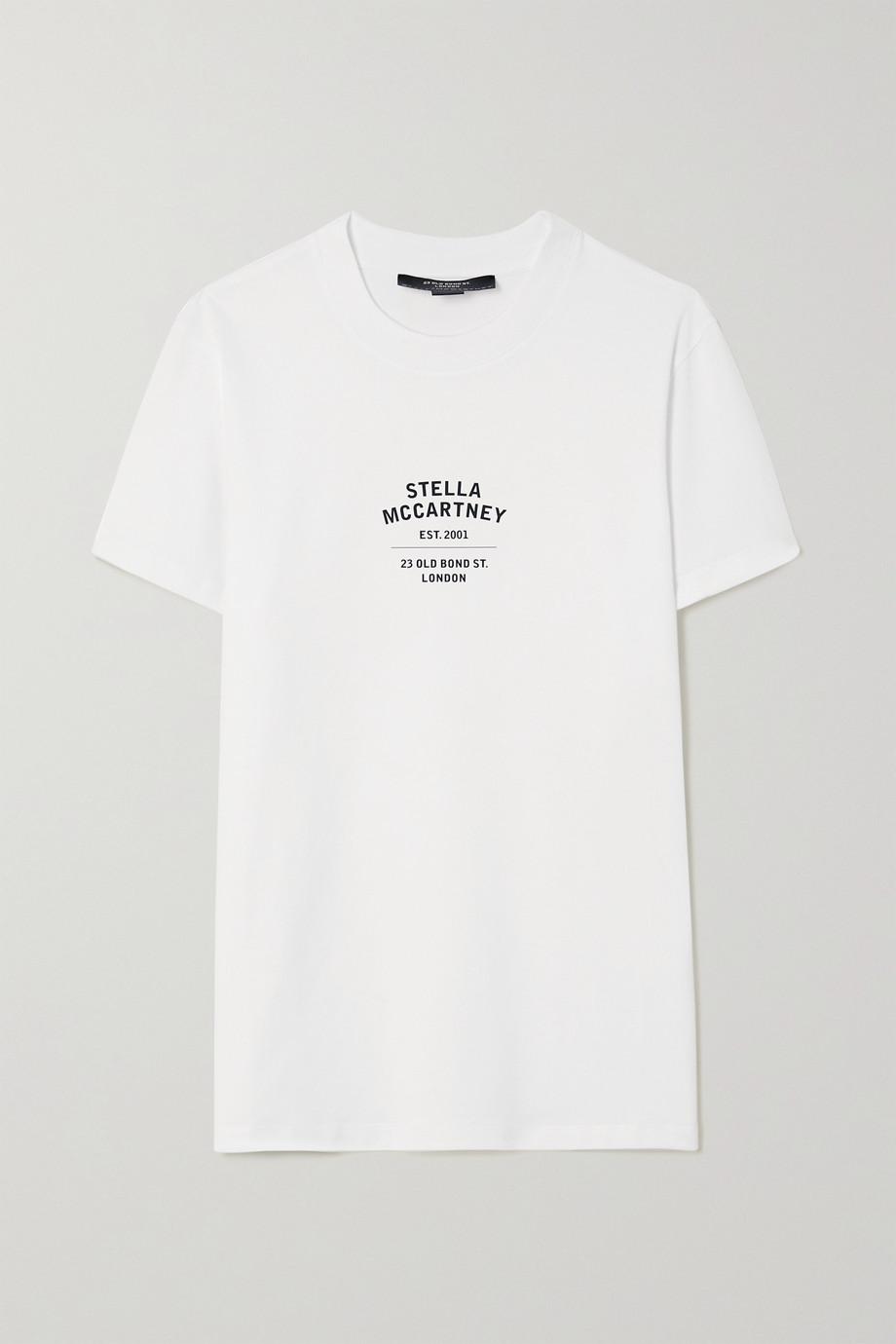 Stella McCartney + NET SUSTAIN T-Shirt aus Biobaumwoll-Jersey mit Print