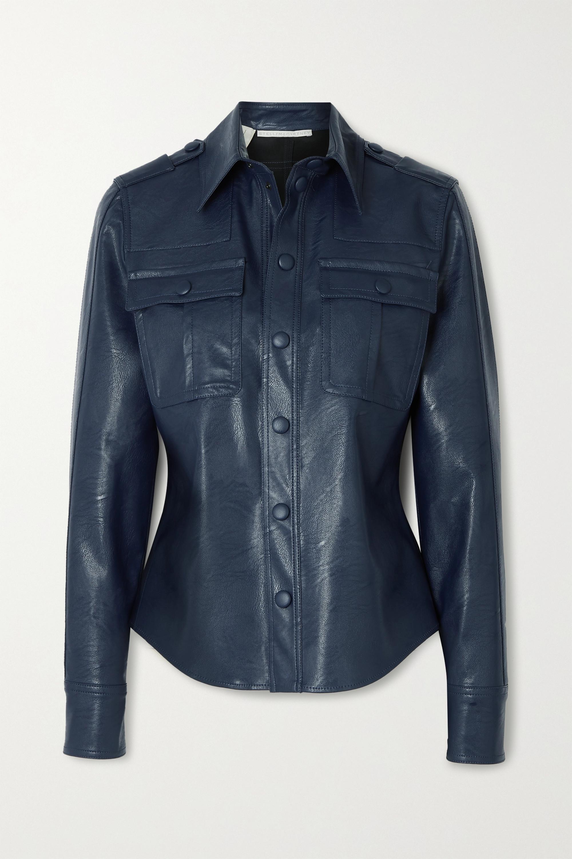 Stella McCartney Hill vegetarian leather shirt