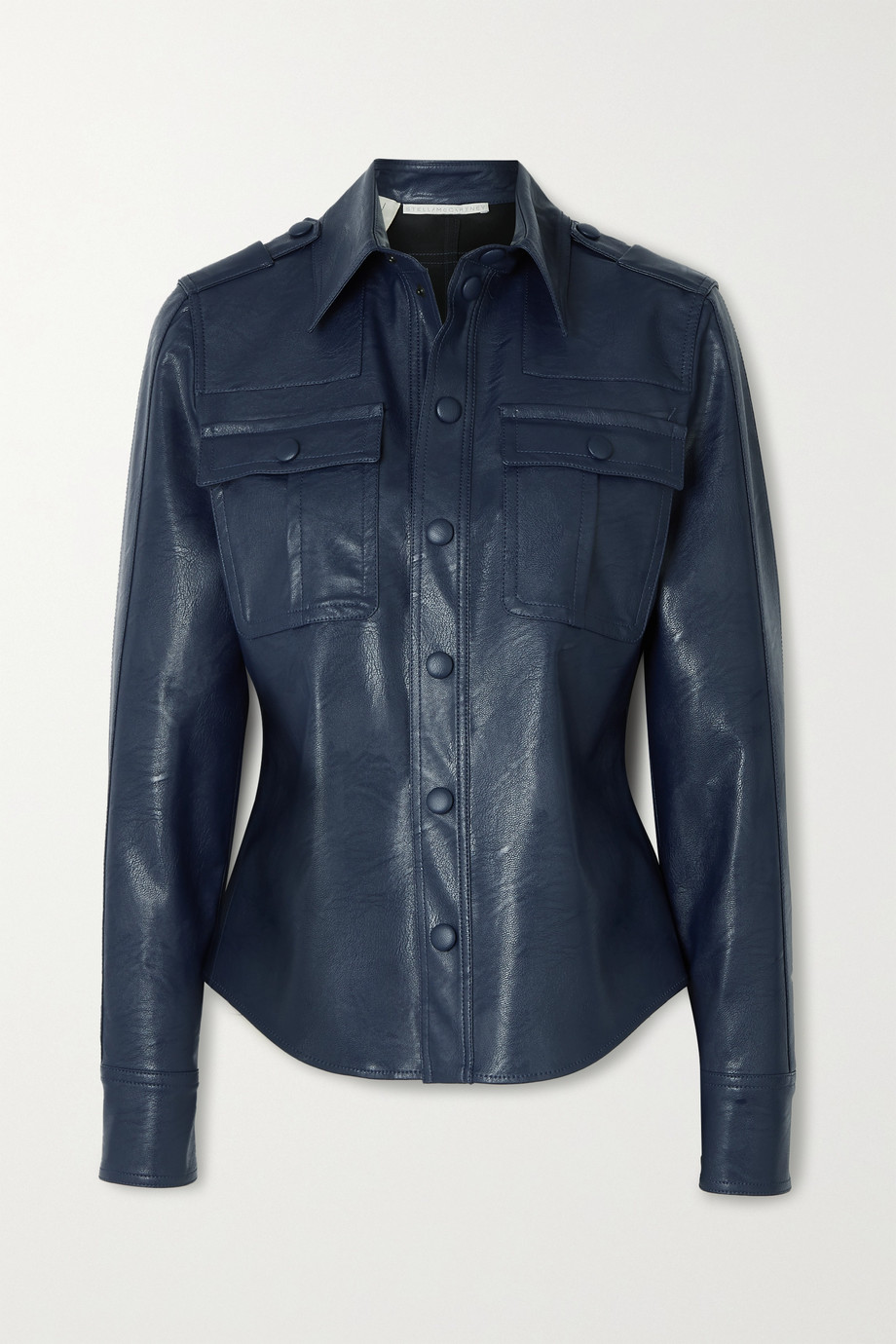 Stella McCartney Hill vegetarian leather shirt