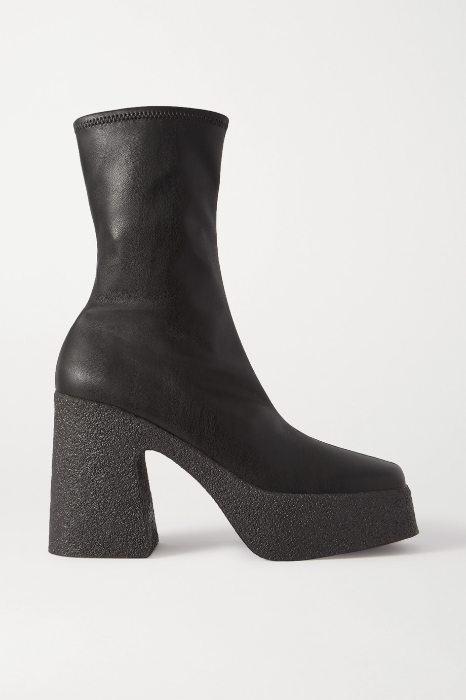 Stella McCartney Faux leather platform ankle boots