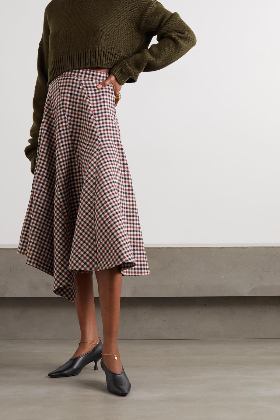 Stella McCartney Pumps aus Kunstleder mit Kette