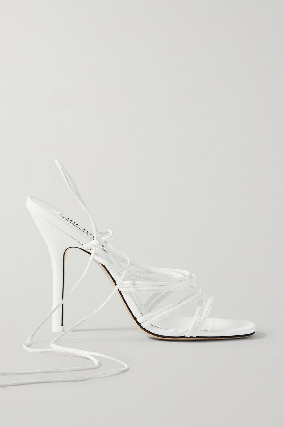 The Attico Fiona leather sandals