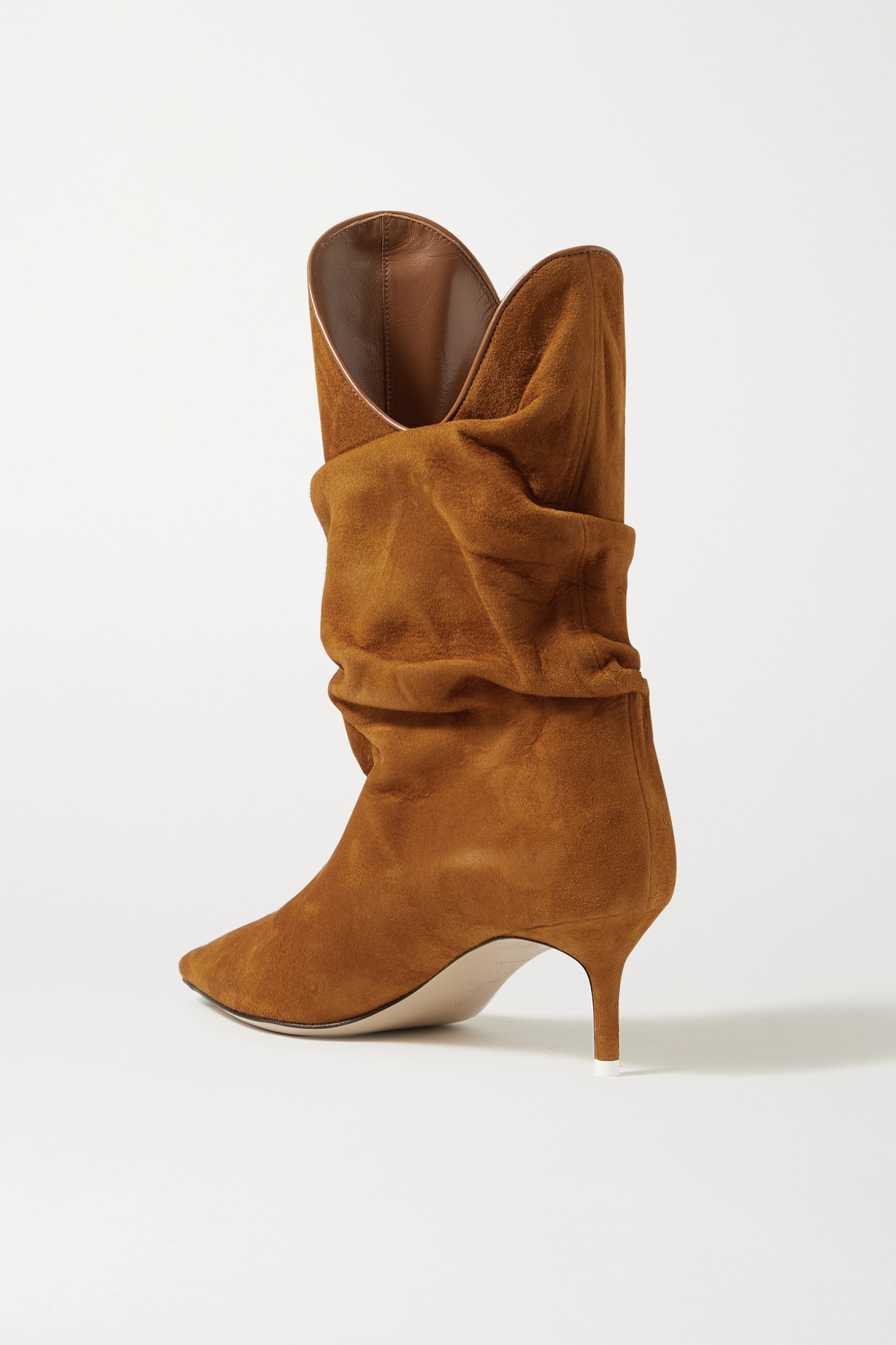 The Attico Tate suede ankle boots