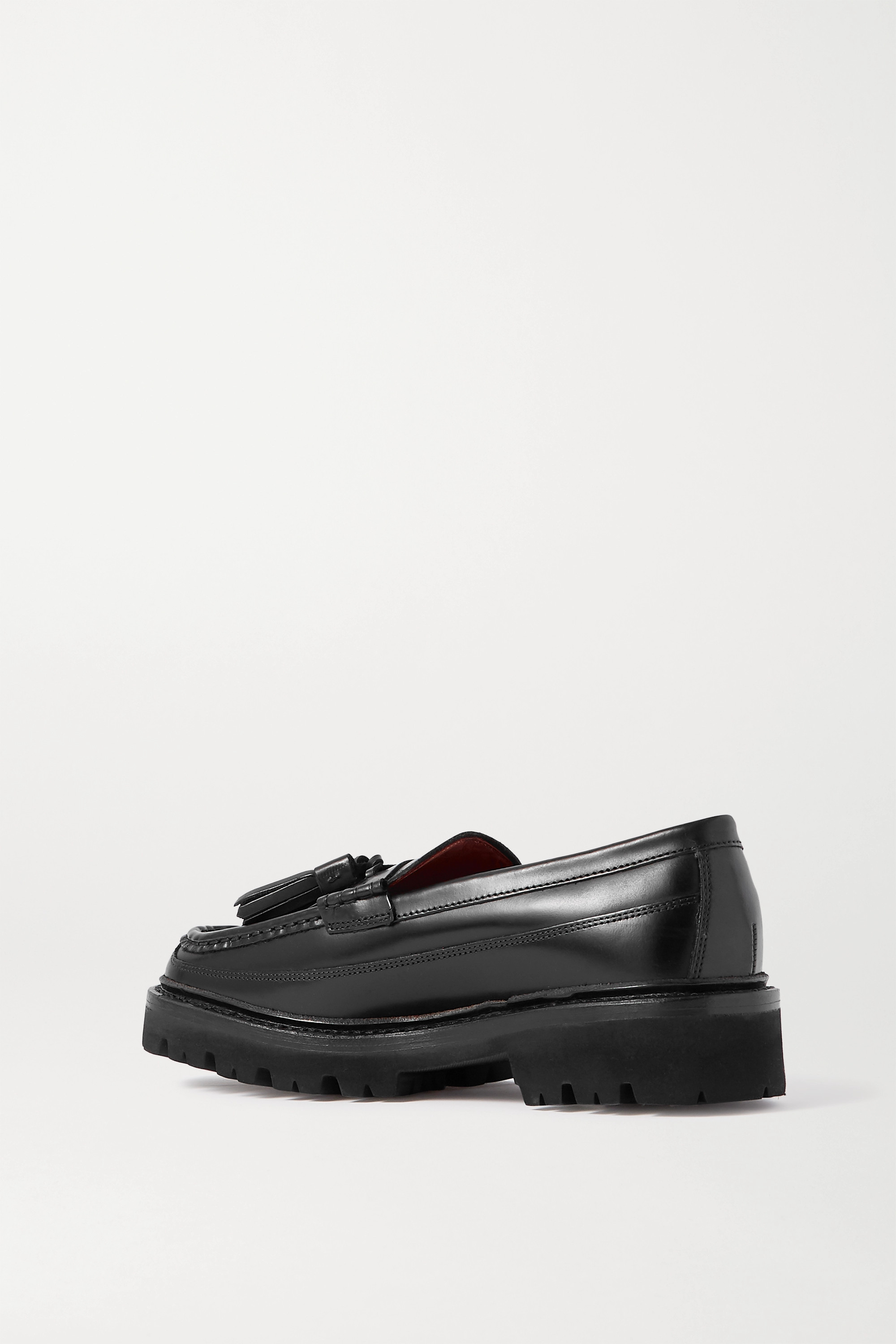 Grenson Bethany tasseled leather loafers