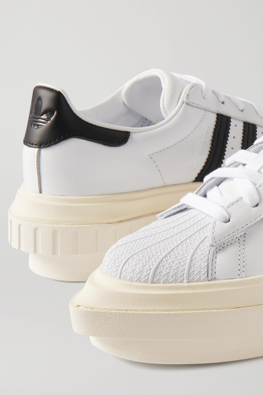 adidas platform sneakers white