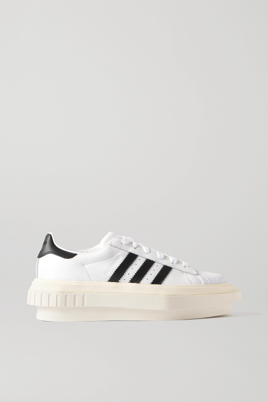 white platform sneakers adidas