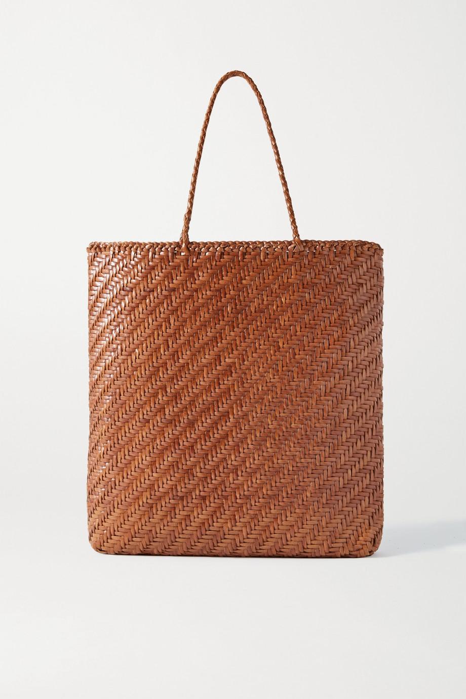 Dragon Diffusion Kete woven leather tote