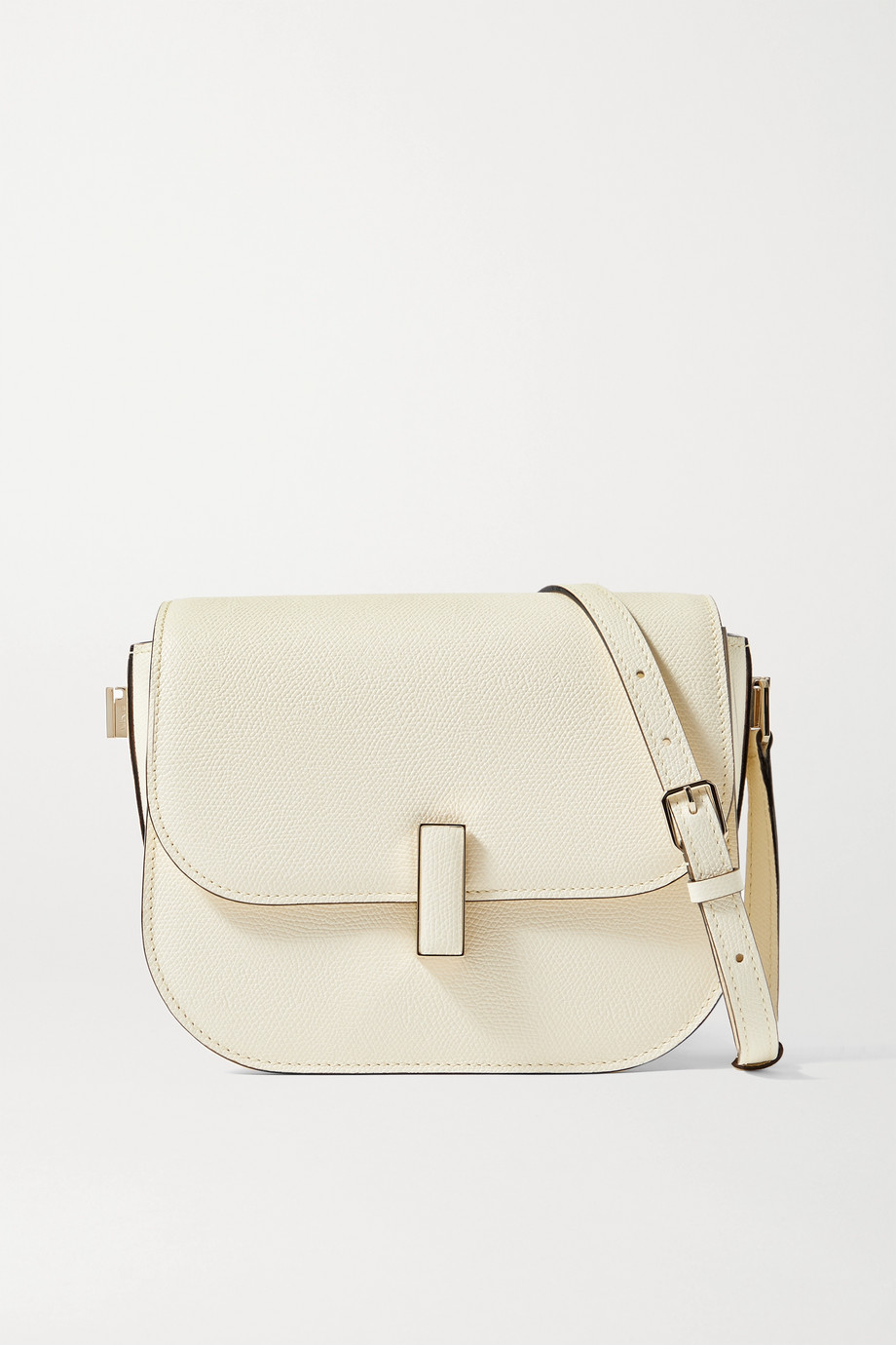 Valextra Iside small textured-leather shoulder bag