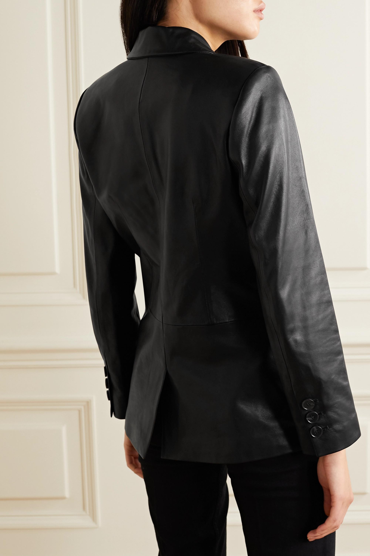 Anine Bing Grace leather blazer