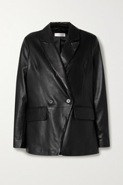Anine Bing Grace leather blazer