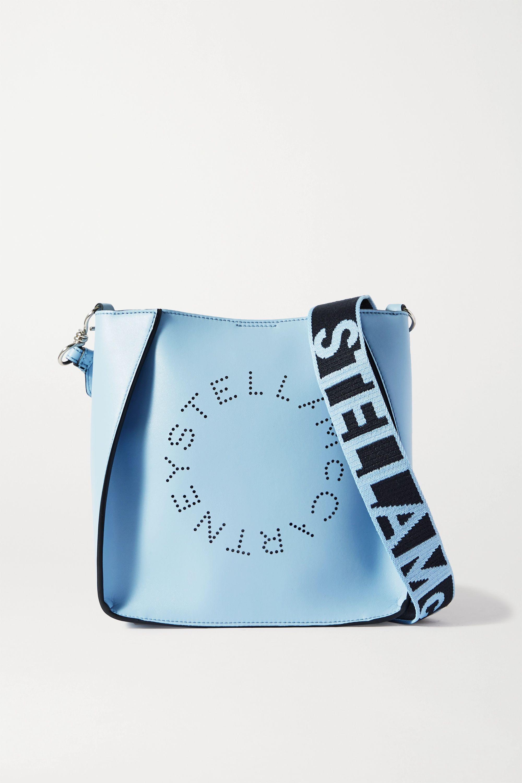Stella McCartney Perforated vegetarian leather shoulder bag