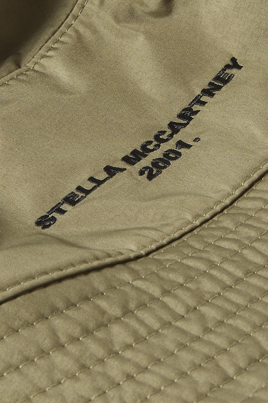 Stella McCartney Wendbarer Fischerhut aus ECONYL® mit Stickerei