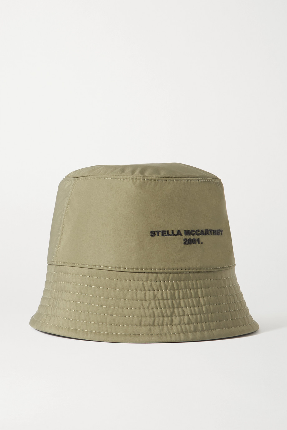 Stella McCartney Reversible embroidered ECONYL bucket hat