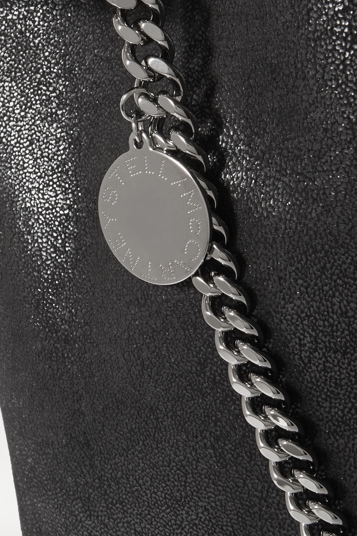 Stella McCartney The Falabella large vegetarian brushed-leather shoulder bag