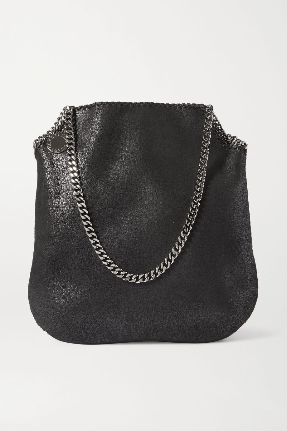 Stella McCartney The Falabella large vegetarian brushed-leather shoulder bag