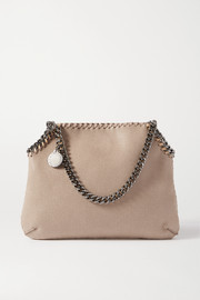 Stella McCartney The Falabella medium vegetarian brushed-leather shoulder bag