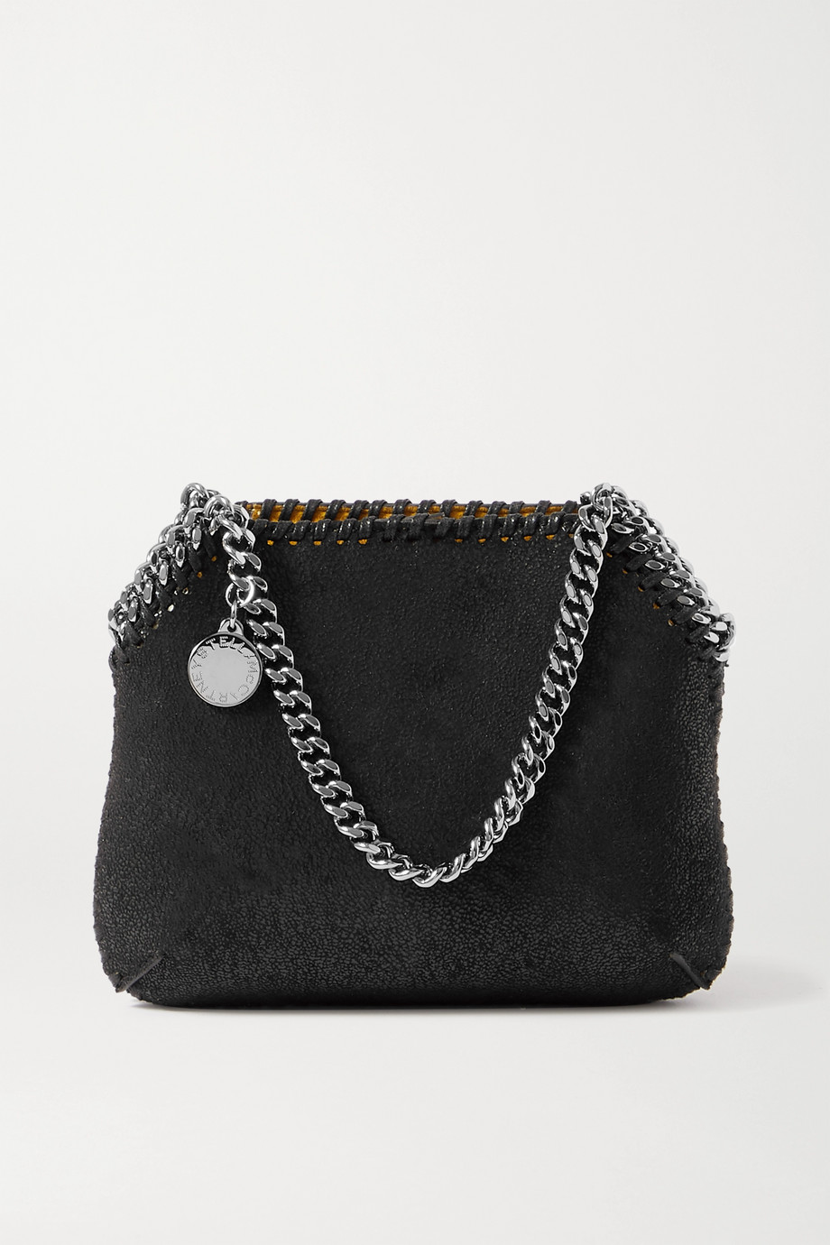 Stella McCartney Falabella mini vegetarian brushed-leather shoulder bag