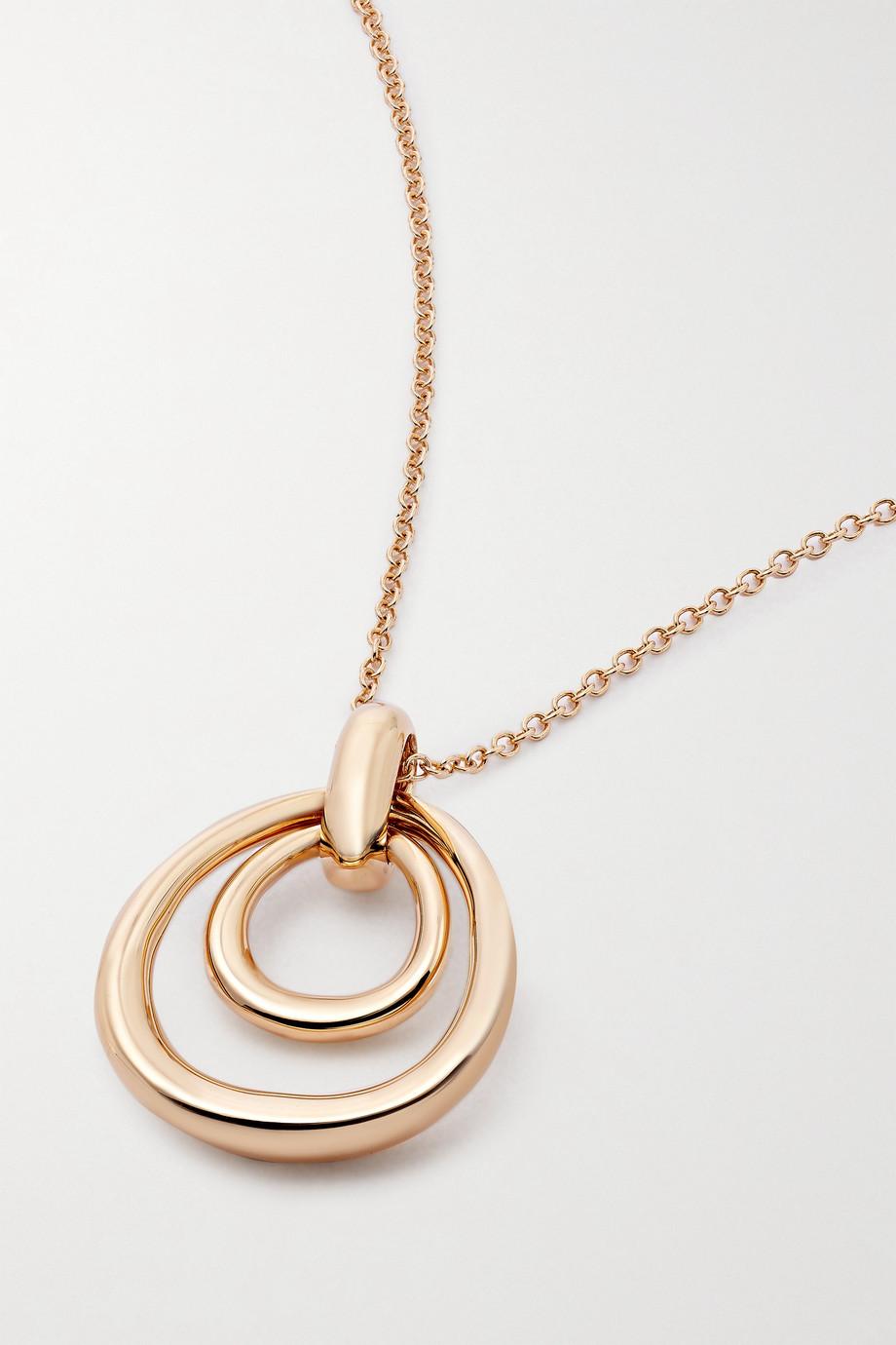 Pomellato Fantina 18-karat rose gold pendant