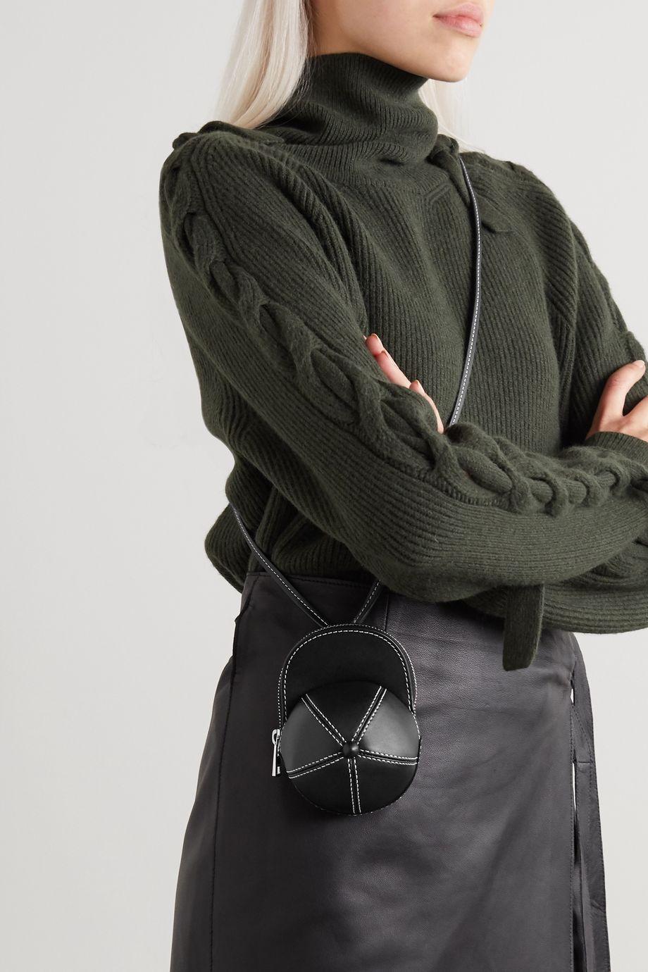 JW Anderson Nano Cap leather shoulder bag