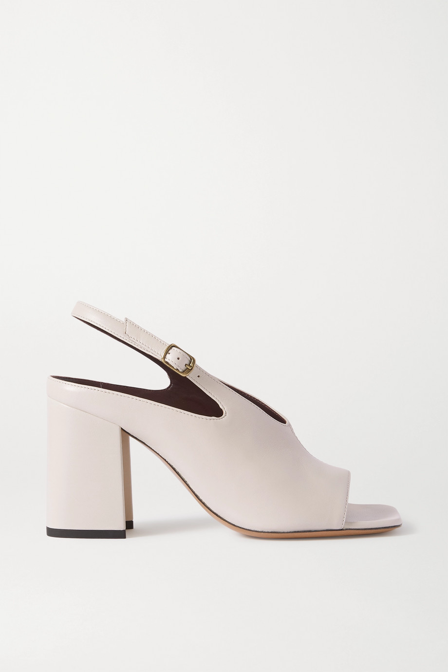 Dries Van Noten Leather slingback sandals