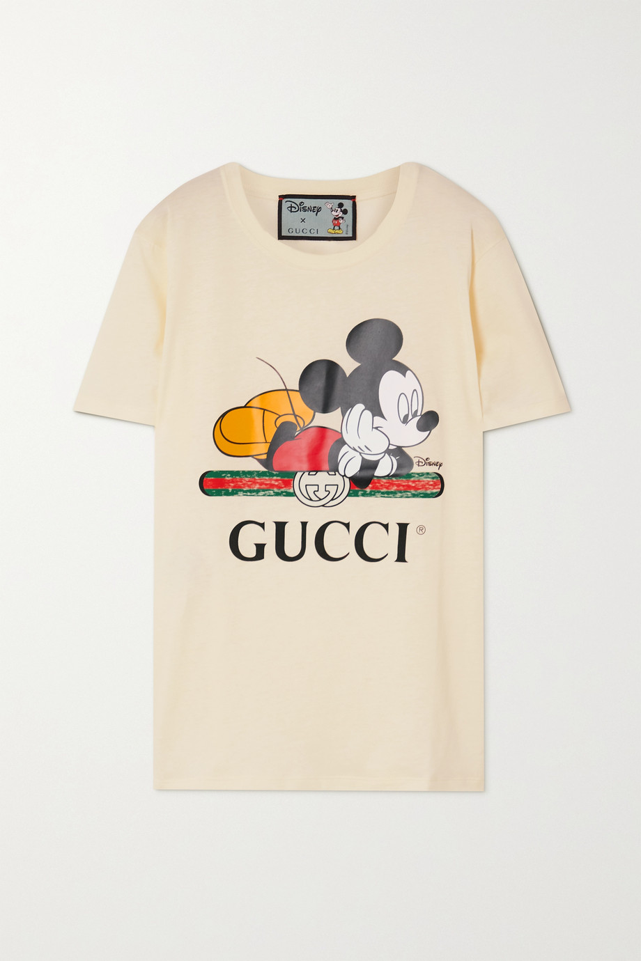Gucci + Disney + NET SUSTAIN printed organic cotton-jersey T-shirt