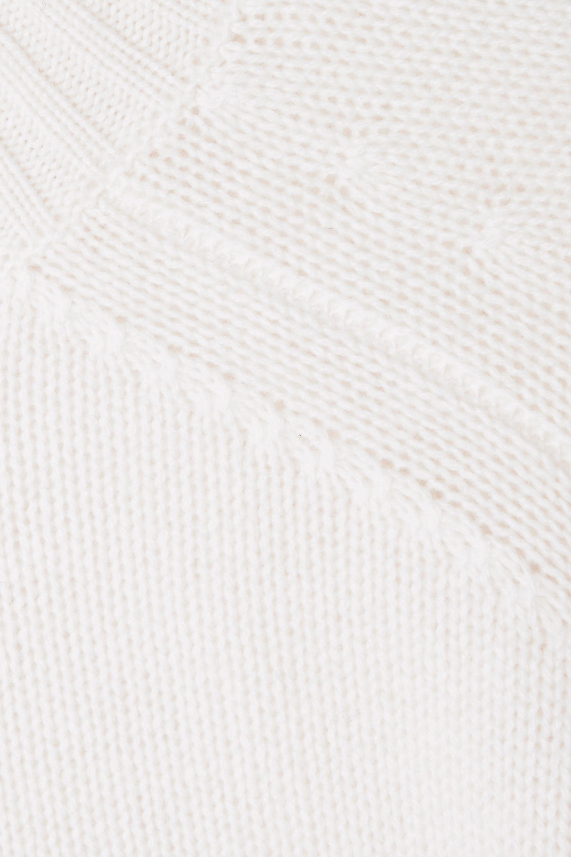 Cream Cashmere Turtleneck Sweater | Allude
