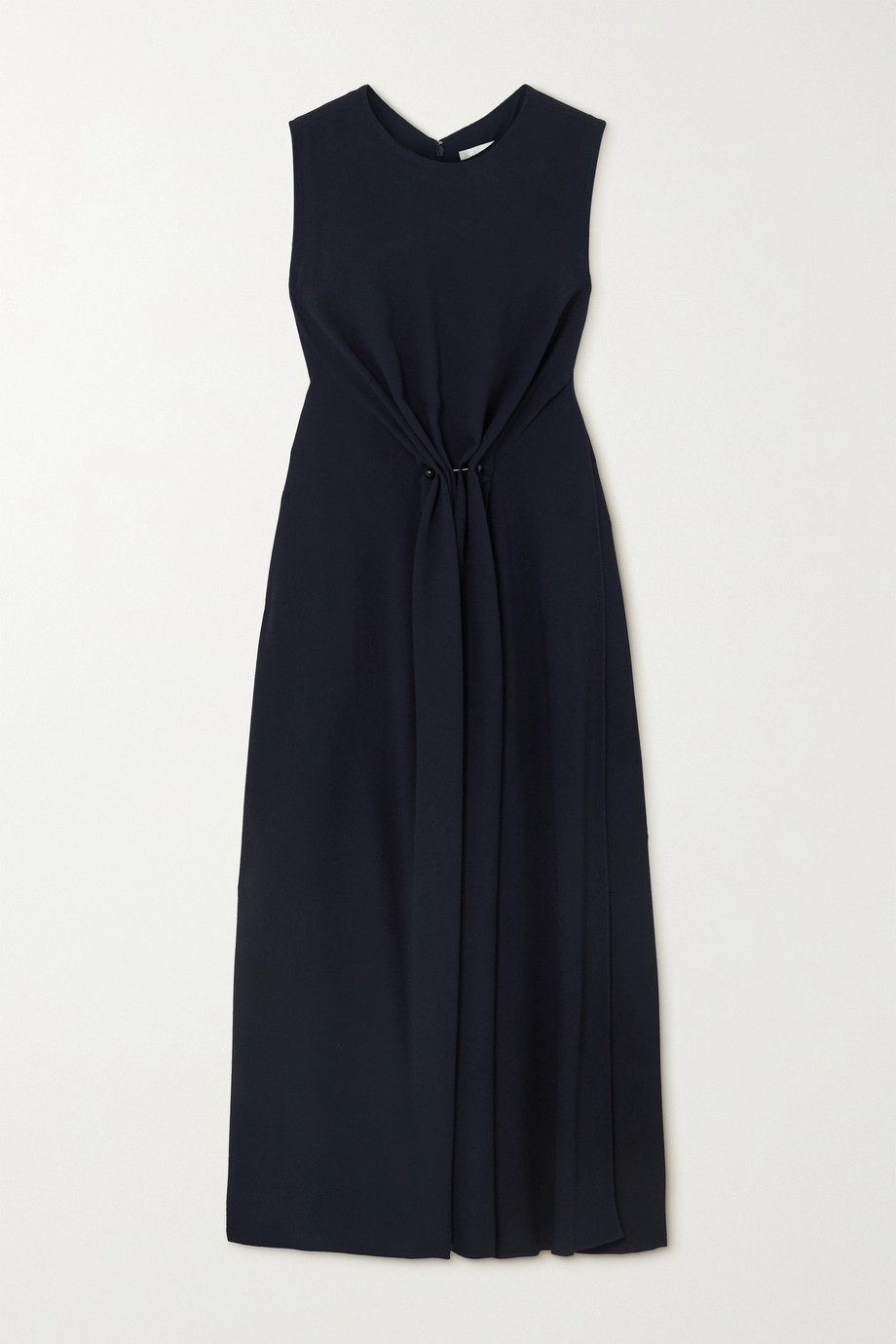 Victoria Beckham Gathered cady midi dress