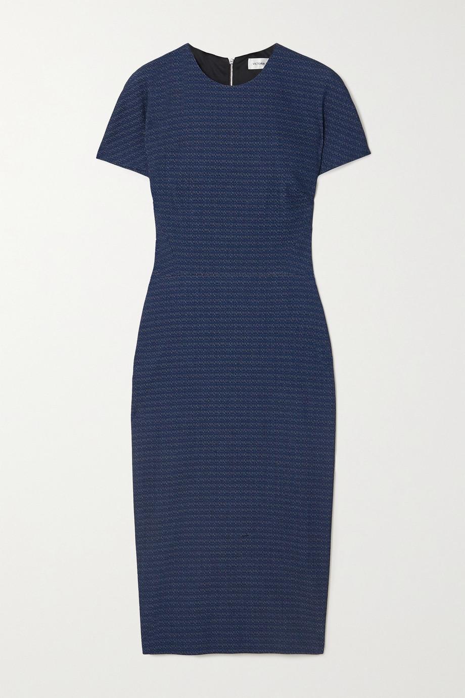 Victoria Beckham Cotton-blend jacquard dress
