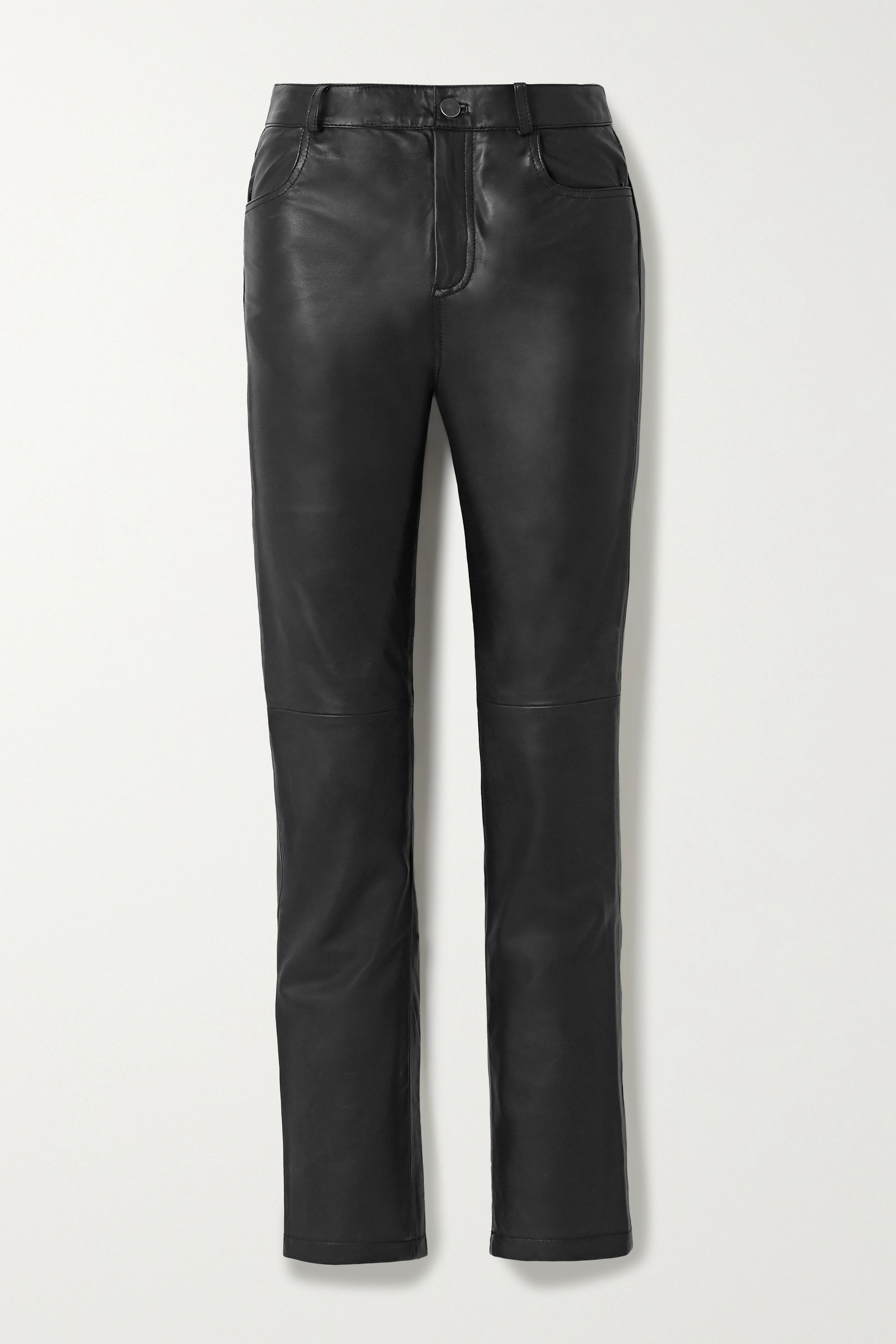 Deadwood + NET SUSTAIN Phoenix leather straight-leg pants
