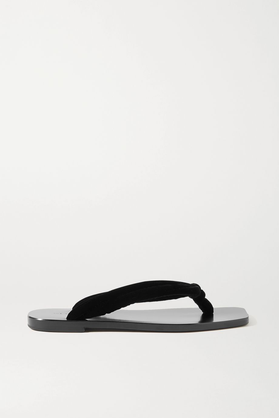 The Row Swan Zehensandalen aus Samt