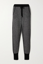 Eres Switch Journal wool and cashmere-blend track pants