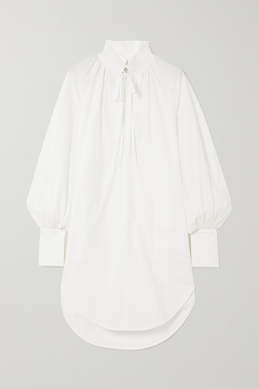 Lee Mathews Sara cotton-poplin tunic