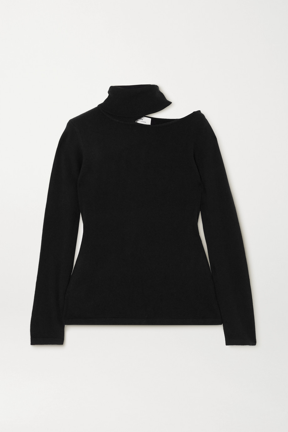 Arch4 Cutout cashmere turtleneck sweater