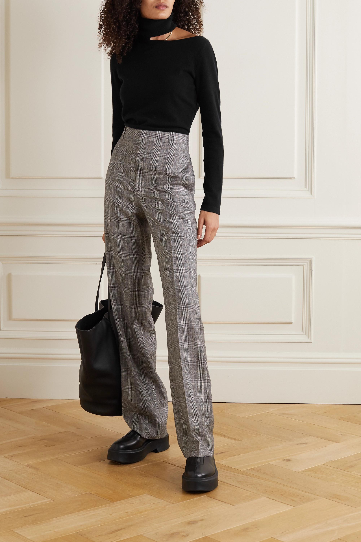 Arch4 Cutout cashmere turtleneck sweater