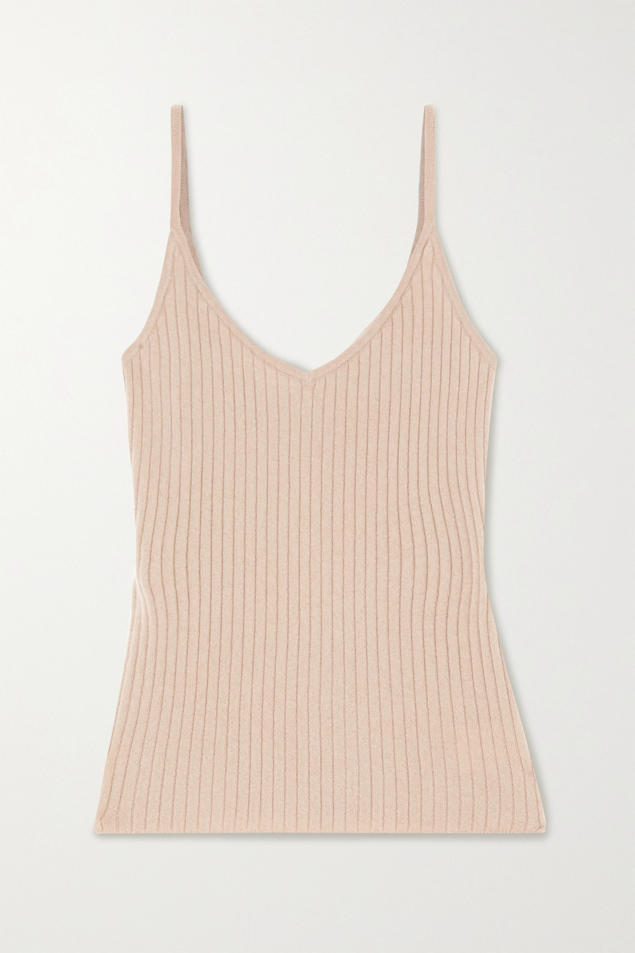 Arch4 Ribbed cashmere tank