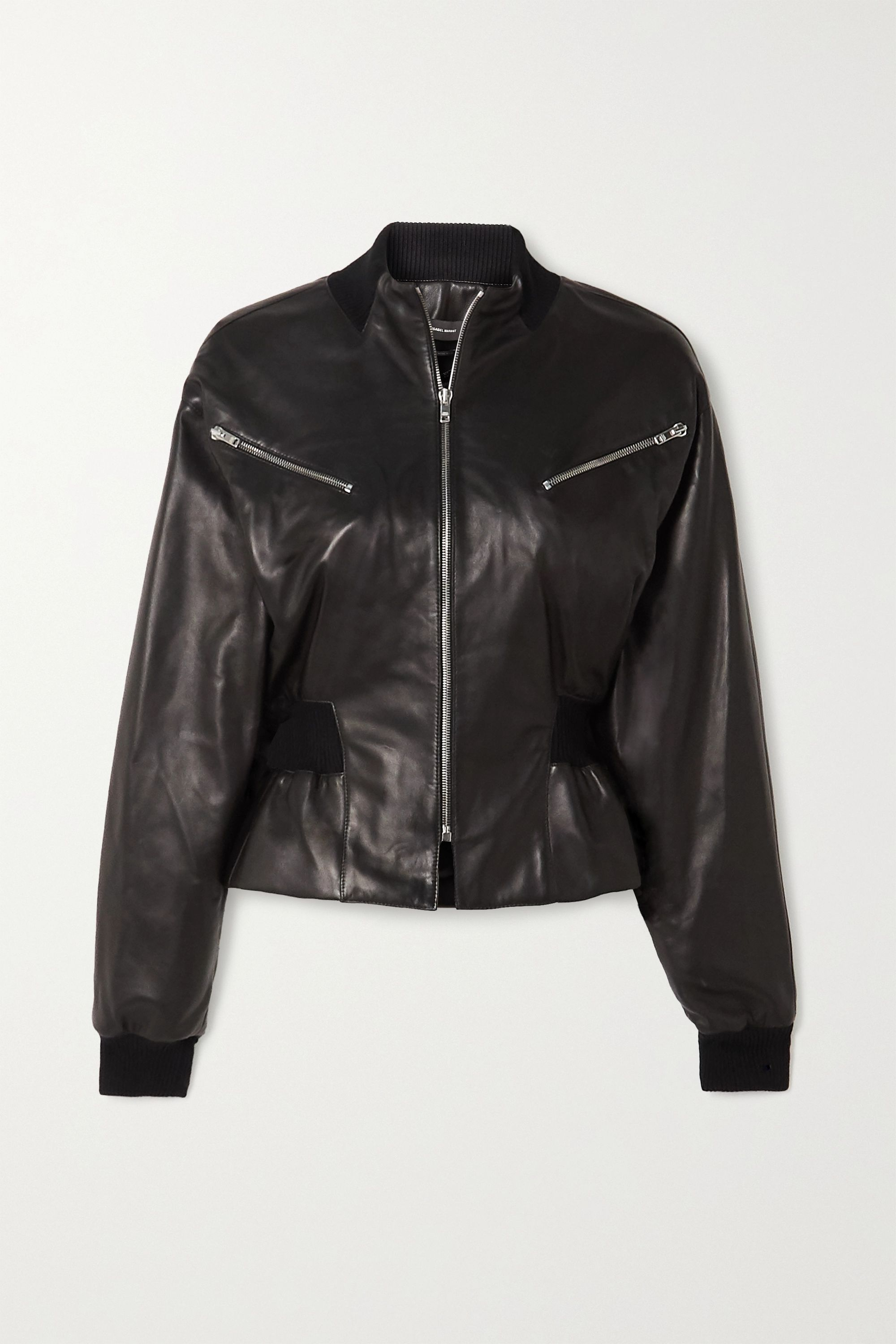Isabel Marant Xabia leather jacket