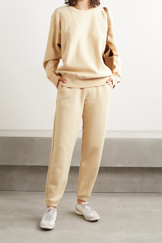 Les Tien 纯棉平纹布运动裤