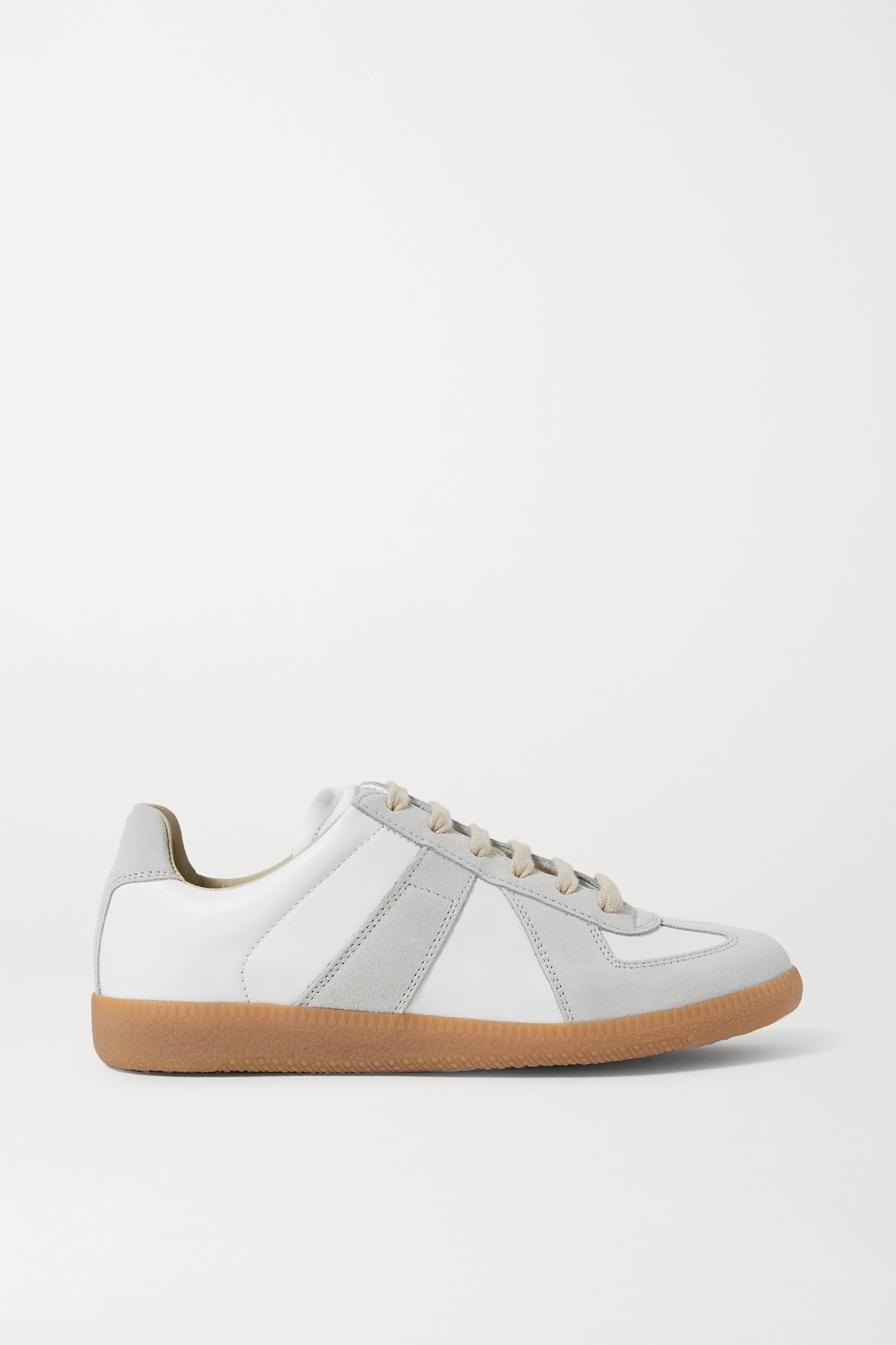 Off-white Replica leather and suede